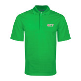 Kelly Green Mini Stripe Polo-Greek Letters