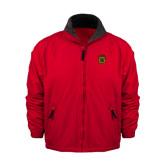 Red Survivor Jacket-Crest