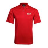 Nike Dri Fit Red Pebble Texture Sport Shirt-Greek Letters