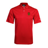 Nike Dri Fit Red Pebble Texture Sport Shirt-Crest