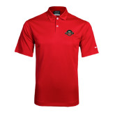 Nike Dri Fit Red Pebble Texture Sport Shirt-Official Logo
