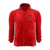 Fleece Full Zip Red Jacket-Crest