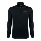 Nike Golf Dri Fit 1/2 Zip Black/Red Pullover-Greek Letters