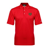 Nike Sphere Dry Red Diamond Polo-Interlocking Greek Letters