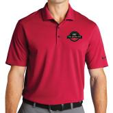 Nike Golf Dri Fit Red Micro Pique Polo-Official Logo