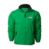 Kelly Green Survivor Jacket-Greek Letters