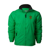Kelly Green Survivor Jacket-Crest