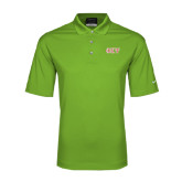 Nike Golf Dri Fit Vibrant Green Micro Pique Polo-Greek Letters