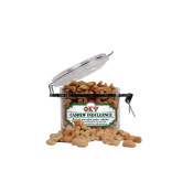 Cashew Indulgence Small Round Canister-Greek Letters