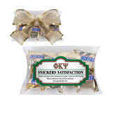 Snickers Satisfaction Pillow Box-Greek Letters