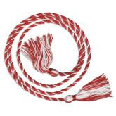 Red/White Graduation Honor Cord-