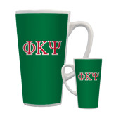 Full Color Latte Mug 17oz-Greek Letters