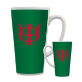 Full Color Latte Mug 17oz-Interlocking Greek Letters