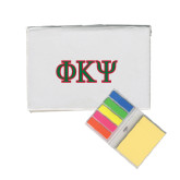 Micro Sticky Book-Greek Letters
