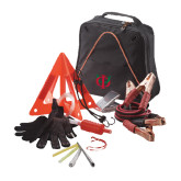Highway Companion Black Safety Kit-Interlocking Greek Letters