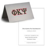 Personalized Bid Card 7 x 5 w Blank Envelope-