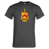 Charcoal T Shirt-Crest
