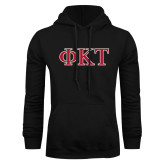 Black Fleece Hoodie-Greek Letters - Two Color