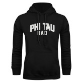 Black Fleece Hoodie-Phi Tau Dad