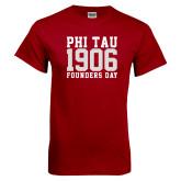 Cardinal T Shirt-Phi Tau 1906 Founders Day