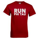 Cardinal T Shirt-Run Phi Tau