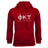 Cardinal Fleece Hoodie-Primary Mark