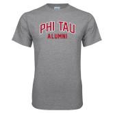 Grey T Shirt-Phi Tau Alumni