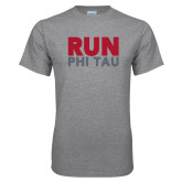 Grey T Shirt-Run Phi Tau