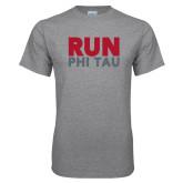 Grey T Shirt-Run Phi Tau