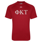 Under Armour Cardinal Tech Tee-Greek Letters