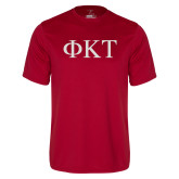 Performance Cardinal Tee-Greek Letters