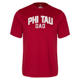 Syntrel Performance Cardinal Tee-Phi Tau Dad