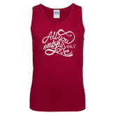 Cardinal Tank Top-All You Need Is Love