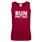 Cardinal Tank Top-Run Phi Tau