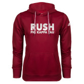 Adidas Climawarm Cardinal Team Issue Hoodie-Rush Phi Kappa Tau