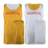 Gold/White Reversible Tank-Generic Arched Phi Kappa Tau