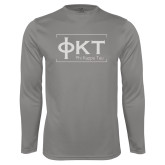 Syntrel Performance Platinum Longsleeve Shirt-Primary Mark