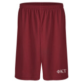 Performance Classic Cardinal 9 Inch Short-Greek Letters