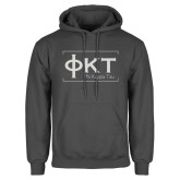 Charcoal Fleece Hoodie-Primary Mark