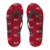 Full Color Flip Flops-Primary Mark