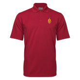 Cardinal Mini Stripe Polo-Crest