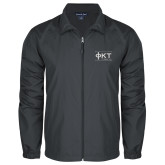 Full Zip Charcoal Wind Jacket-Primary Mark