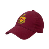 Cardinal Twill Unstructured Low Profile Hat-Crest