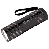Astro Black Flashlight-Greek Letters Engraved