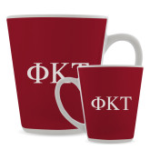 Full Color Latte Mug 12oz-Greek Letters