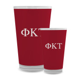 Full Color Glass 17oz-Greek Letters