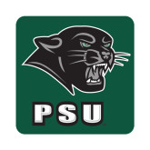 Medium Decal-PSU Stacked w/ Panther Head, 8 inches tall