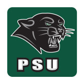 Large Decal-PSU Stacked w/ Panther Head, 12 inches tall