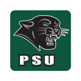 Small Decal-PSU Stacked w/ Panther Head, 6 inches tall