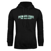 Black Fleece Hoodie-Plymouth State Panthers